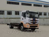 Electric street sweeper chassis