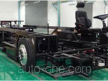 Electric city bus chassis