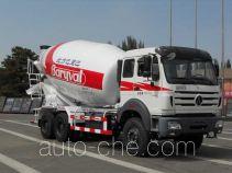 北方重工牌BZ5250GJBNA4型混凝土搅拌运输车