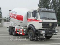 NHI BZ5254GJBNA4 concrete mixer truck