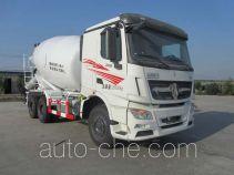 北方重工牌BZ5254GJBNV4型混凝土搅拌运输车