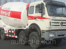 北方重工牌BZ5318GJB37NA4型混凝土搅拌运输车