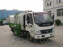 北重电牌BZD5049ZZZE5型自装卸式垃圾车