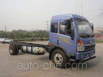 解放牌CA1147PK2NE5A80型平头天然气载货汽车底盘