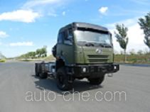 FAW Jiefang CA2191P2K2TA70E4 diesel cabover off-road truck chassis