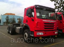 FAW Jiefang CA3251P2K2L4T1BE5A80 diesel cabover dump truck chassis