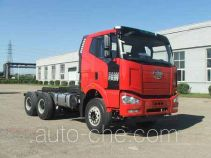 FAW Jiefang CA3250P66K2L3BT1AE5 diesel cabover dump truck chassis