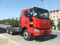FAW Jiefang CA3250P66K2L1BT1AE5 diesel cabover dump truck chassis