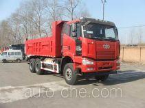 FAW Jiefang CA3250P66L0T1E24M5 natural gas cabover dump truck