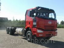 FAW Jiefang CA3250P66L2BT1E24M5 natural gas cabover dump truck chassis