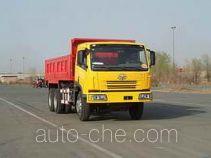 解放牌CA3253P7K1T1E型6×4平头柴油自卸汽车