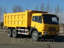 FAW Jiefang CA3253P7K2T1 diesel 6x4 cabover dump truck