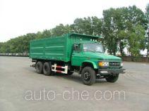 Diesel dump truck