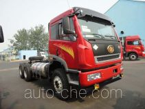 FAW Jiefang CA1250P2K2T1S2NE5A80 natural gas cabover truck chassis