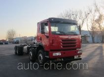 FAW Jiefang CA3310P2K2L3T4BE5A80 diesel cabover dump truck chassis