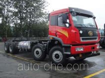 FAW Jiefang CA3310P2K2L5T4NE5A80 natural gas cabover dump truck chassis