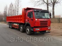 Natural gas cabover dump truck