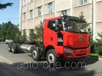 FAW Jiefang CA3310P66L7BT4E22M5 natural gas cabover dump truck chassis