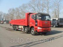 FAW Jiefang CA3310P66L7T4E22M5 natural gas cabover dump truck