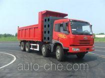 解放牌CA3311P7K15T4A70E3型平头燃气自卸汽车