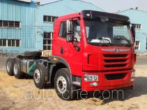 FAW Jiefang CA3312P1K2L2T4BE4A80 diesel cabover dump truck chassis
