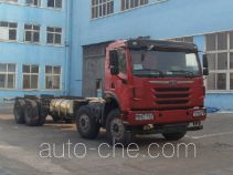 FAW Jiefang CA3312P2K2L6T4NE5A80 natural gas cabover dump truck chassis