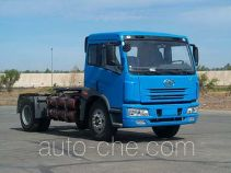 FAW Jiefang CA4143P7MX natural gas cabover container tractor unit