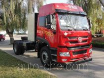 FAW Jiefang CA4163P1K2NE5A80 natural gas cabover tractor unit