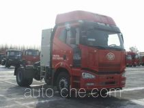 FAW Jiefang CA4180P66E24M5 natural gas cabover tractor unit