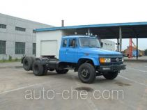 FAW Jiefang diesel conventional tractor unit with lifting axle
