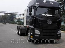 FAW Jiefang CA4250P25K27T1E5M1 dangerous goods transport tractor unit