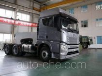 FAW Jiefang container carrier vehicle