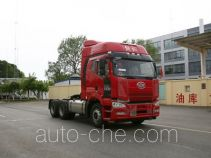 Container transport tractor unit