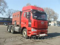 FAW Jiefang CA4250P66K24T1A1HE4X dangerous goods transport tractor unit