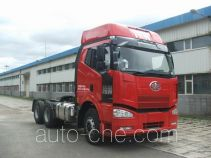 FAW Jiefang CA4250P66K24T1A2E4X container transport tractor unit