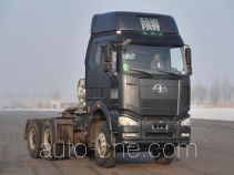 FAW Jiefang CA4250P66T1A1E22MX natural gas cabover container tractor unit