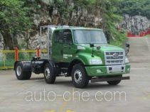 FAW Jiefang CA4252N2E5R5T3A90 natural gas tractor unit