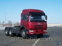 FAW Jiefang CA4252P21K2T1E diesel 6x4 cabover tractor unit