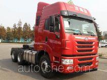 FAW Jiefang CA4255P2K2T1E4A80 dangerous goods transport tractor unit