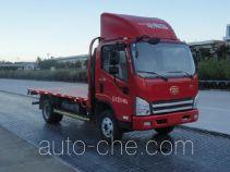 解放牌CA5041TPBP40K17L1E5A85型平板运输车