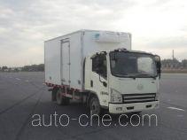 解放牌CA5041XLCP40K2L1E4A85型冷藏车