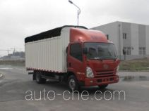 解放牌CA5043CPYPK45L2E1型蓬式运输车
