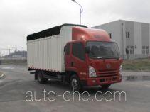 解放牌CA5043CPYPK45L2R5E4型蓬式运输车