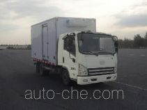 FAW Jiefang CA5043XLCP40K2L1E4A85 refrigerated truck