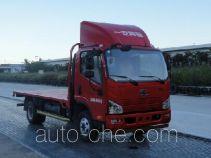 FAW Jiefang CA5046TPBP40K2L1E5A84 flatbed truck