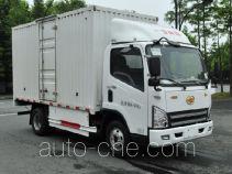 解放牌CA5049XXYP40L1BEVA84型纯电动厢式运输车