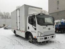 解放牌CA5071XXYP40L1EVA84-3型纯电动厢式运输车