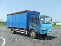 FAW Jiefang CA5143CPYP10K1L6E4 soft top box van truck