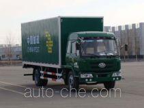 Huakai CA5118XYZK28L5B postal van truck