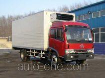 FAW Jiefang CA5088XLCA refrigerated truck